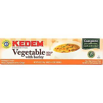 Kedem Soup Mix Vegetable Cello, Case of 24 X 6 Oz
