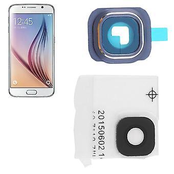Wymiana osłona szklanego obiektywu aparatu + uchwyt na ramę Samsung Galaxy S6 G9200