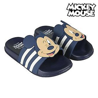 Chanclas para niños Mickey Mouse Negro