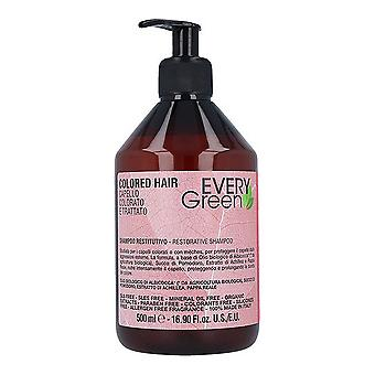 Shampooing Everygreen Dikson Muster Cheveux colorés (500 ml)