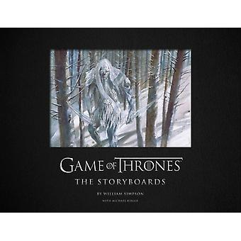 Game of Thrones The Storyboards by Michael Kogge