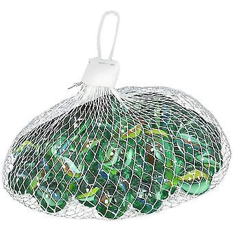 Glasmurmeln, Mischfarbe Marbless für Outdoor-Sportspielzeug, 50St