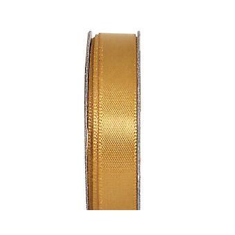 LAST FEW - Ruban d'artisanat en satin de 3m Golden Shine 10mm Wide