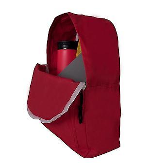 Nektar Backpack, Polyester Fabric, Functional Design, Red, School Bag