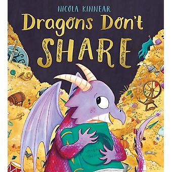 Dragons Dont Share HB by Nicola Kinnear