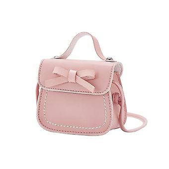 2019 New Cute Bowknot Pure Color Handbags