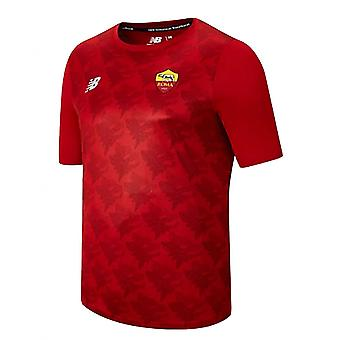 2021-2022 Roma Leichtgewichts-T-Shirt (Rot)