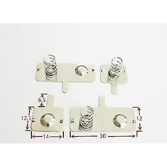 5. Batteri Granatsplinter Aa Spring Toy Fjernbetjening Kontakt
