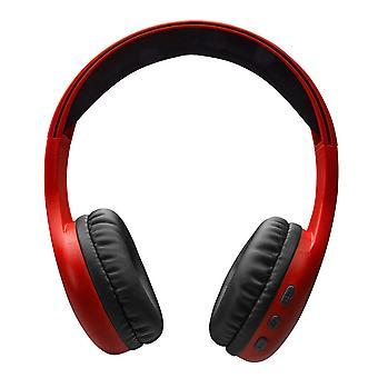 Bluetooth Headphones SBS Music Hero 60 mAh Red