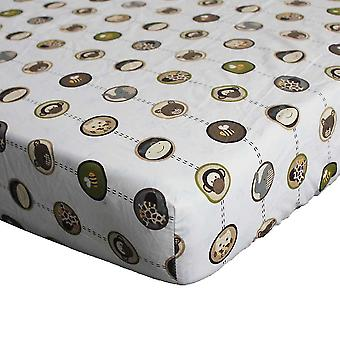 Cotton Crib Fitted Sheet Soft Baby Bed Mattress Cover
