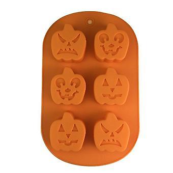 Halloween Pumpkin Styling Aromatherapy Gypsum Mold  - 2pcs