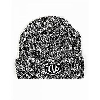 Deus Ex Machina Melange Beanie Hat - Grey