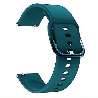 20Mm pulseira de relógio de silicone para huami amazfit gts gtr bip u bip s gts 2 bandas de relógio 42mm