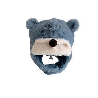 Plush Bear Warm Ear Protection Cap