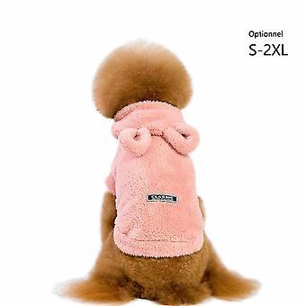 Pet Clothing Fall Winter Dog Clothing Pet Clothing Hooded Padded Dog Clothing Fleece