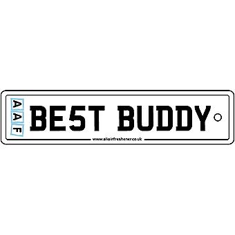 AAF - Best Buddy License Plate Car Air Freshener