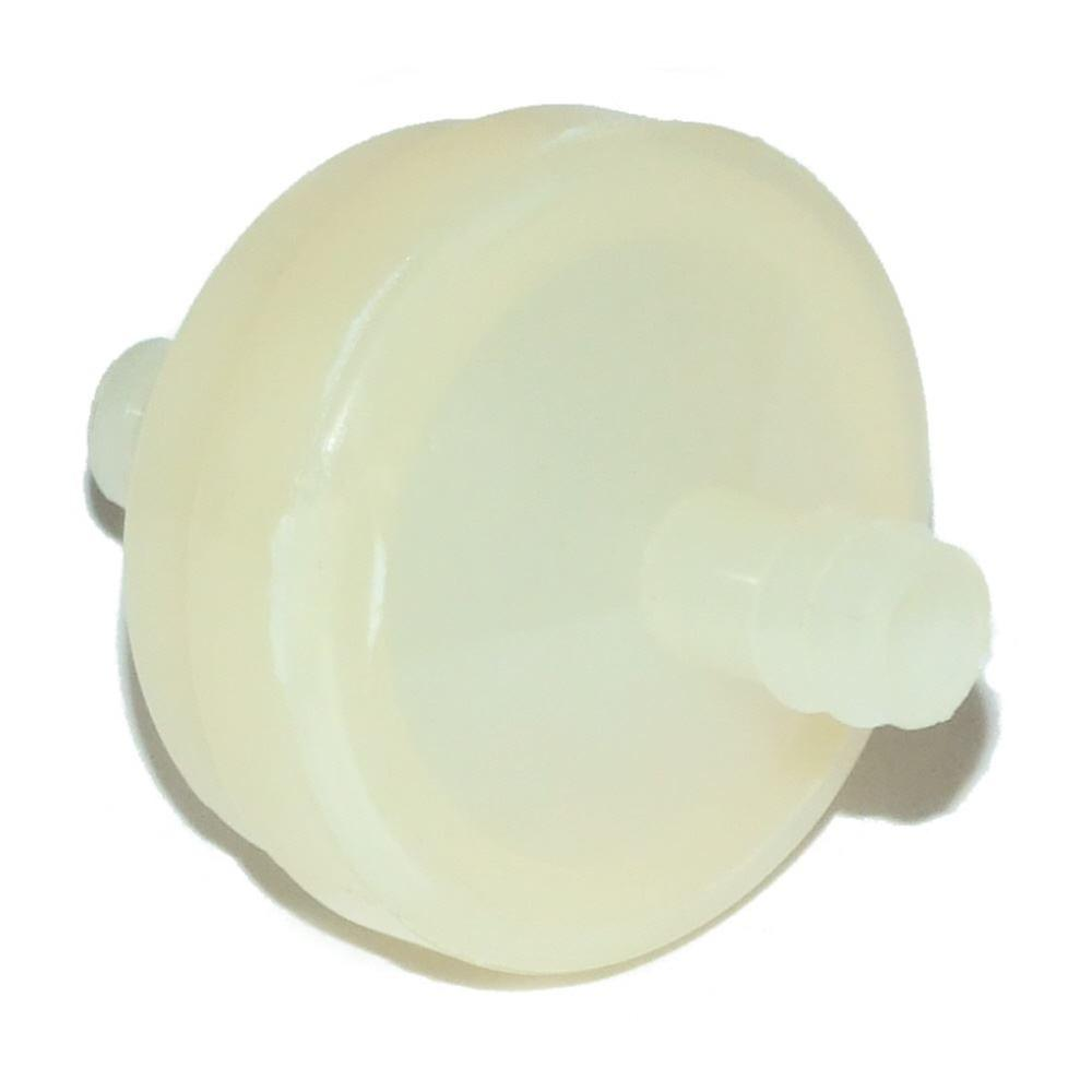 White In Line / Inline Fuel Filter 75 Mic Fits Briggs And Stratton 298090 394358
