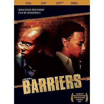 Barriers [DVD] USA import