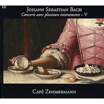 JS Bach - Bach: Konserter Avec Plusieurs instrumenter, Vol. 5 [DVD] USA import