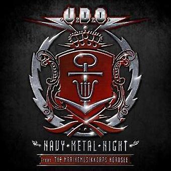 U.D.O. - Navy Metal Night (2CD/Blu-ray) [CD] USA import