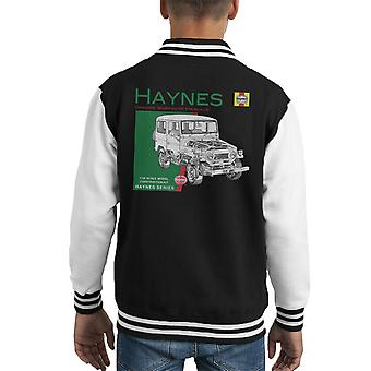 Haynes Owners Workshop Manual 0313 Toyota Landcruiser Kid's Varsity Jacket