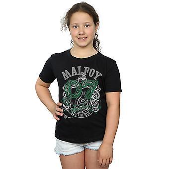 Harry Potter jenter Draco Malfang Seeker t-skjorte