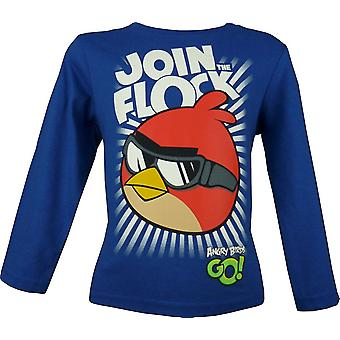 Camiseta de manga larga de niños Angry Birds \ Top