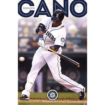 Seattle Mariners  - R Cano 14 Poster Poster Print
