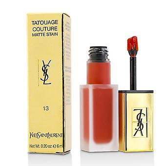 Yves Saint Laurent Tatouage Couture Matte Stain - # True Orange - 6ml/0.2oz