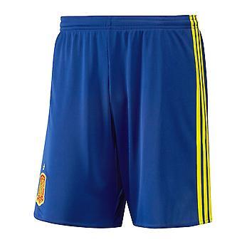 2016-2017年スペイン ホーム アディダス サッカー パンツ (キッズ)
