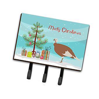 جيرسي تركيا برتقالي الدجاجة عيد الميلاد المقود أو حائز المفتاح