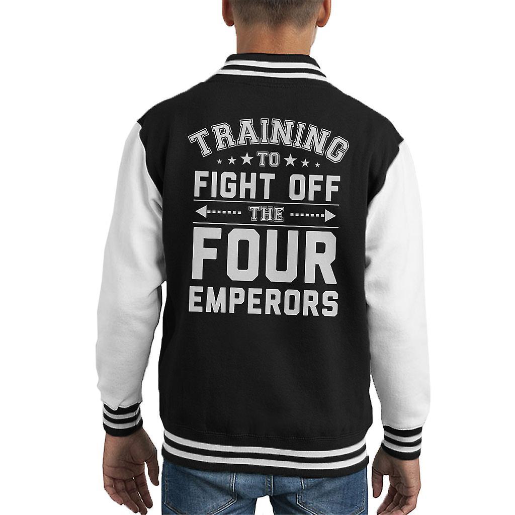 Training To Fight The Four Emperors One Piece Kid's Varsity Jacket   Fruugo US