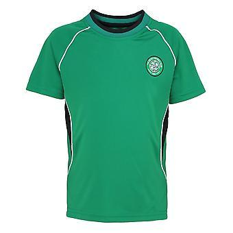 Official Football Merchandise Kids Celtic FC Short Sleeve T-Shirt
