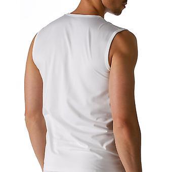 Mey 46137-101 mannen droge katoenen witte effen kleur Tank Vest Top