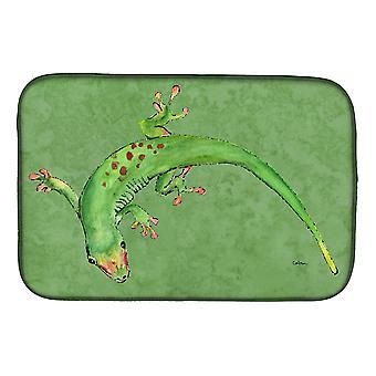 Carolines trésors 8887DDM Gecko plat Mat de séchage