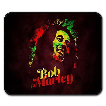 Marley Bob Weed Rasta mysz antypoślizgowa Mata podkładka 24 cm x 20 cm | Wellcoda