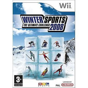 Sports d'hiver L'Ultimate Challenge 2008 (Wii) - Nouveau