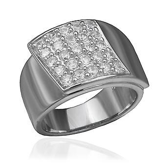 Orphelia srebro 925 pierścień cyrkonu ZR-3603