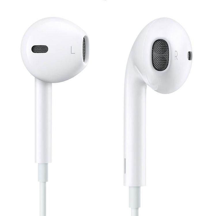 Original MD827 Apple MNHF2ZM/A EarPods Headset Headphone in new packaging - white