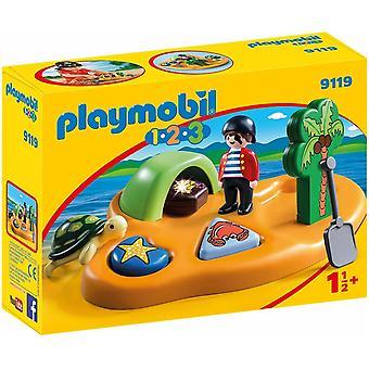 Playmobil 9119 1.2.3 海盗岛与形状排序