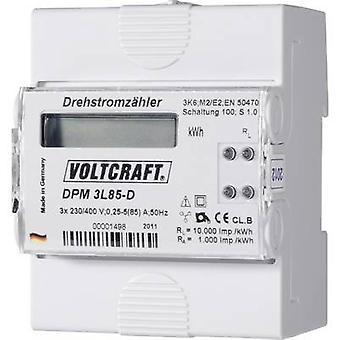 فولكرافت DPM 3L85-د الكهرباء متر (3-المرحلة) الرقمية 85 A منتصف المعتمدة: لا 1 pc (s)