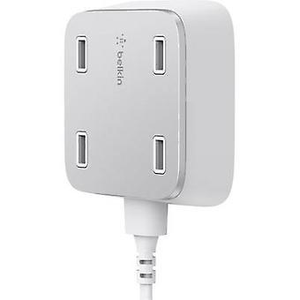 Belkin F8M990vfWHT F8M990vfWHT USB charging station Mains socket Max. output current 5400 mA 4 x USB