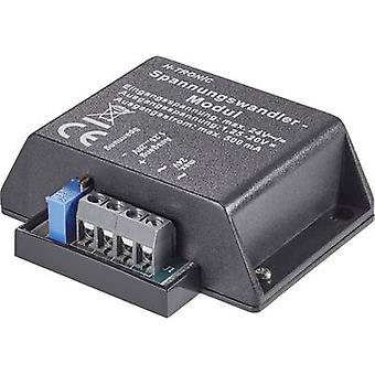 Napięcie wejściowe transformatora napięcia H-Tronic (zakres): 4, 4 - 24, 24 V DC, V NAPIĘCIE wyjściowe AC (zakres): 1,2 - 20 V DC 500 mA