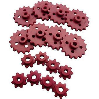 Material de treinamento Reely Workplace - Conjunto de rodas de corrente Diâmetro do furo 2,9 mm, 3,9 mm