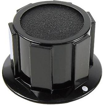 Acantilado FC1610 perilla K1C 6,35 mm negro tornillo Fix