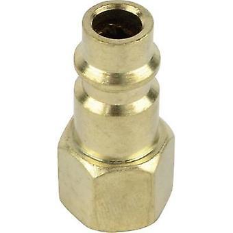 Brüder Mannesmann pneumatische push-fit tepel 1/4 (6,3 mm)