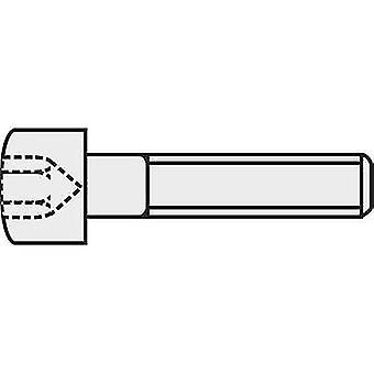 Vis Allen 827292 TOOLCRAFT M4 16 mm Hex socket (Allen) DIN 912 ISO 4762 acier 8.8. 9e année noir 1 PC (s)