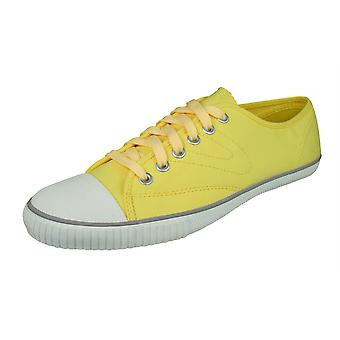 Tretorn T56 Canvas Mens Trainers / Plimsolls - Yellow