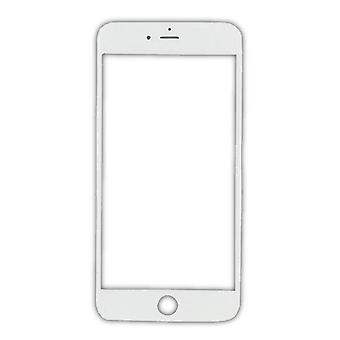 الاشياء المعتمدة® اي فون 8 الزجاج الزجاجي الجبهة لوحة AAA + الجودة - أبيض