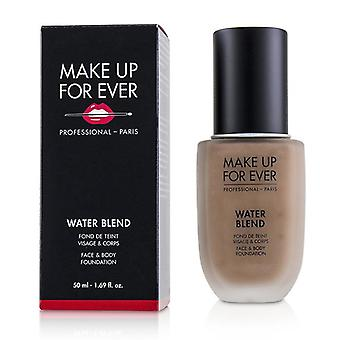 Make Up For Ever Water Blend Face & Body Foundation - # R430 (hazelnut) - 50ml/1.69oz